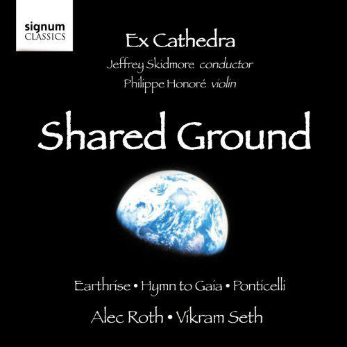 Shared Ground Album featuring Philippe Honore (classical violinist)
