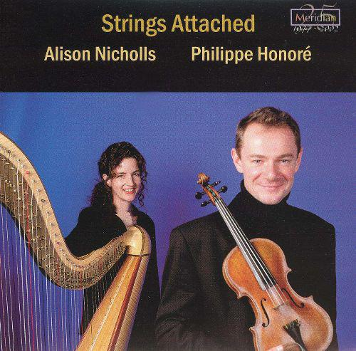 Strings Attached Album featuring violinist  Philippe Honore